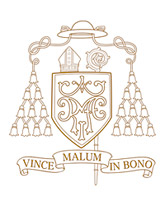 Pal. arkivyskupo J. Matulaičio herbas